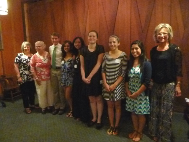 Scholarship Committee and Recipients